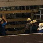 Amish boys at the Livestock Auction Barn