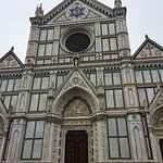 The facade of the Basilica di Santa Croce
