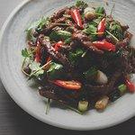 Stir Fried Beef & Chili