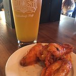 IPA and wings