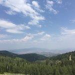 The view toward Park City