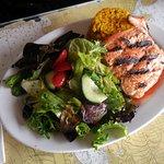 Flame Broiled Coho Salmon