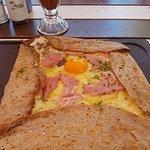 Ham, Cheese & Egg Crepe