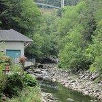 Pont suspendu et gorge de Coaticook