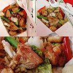 Рис со свининой / Rīsi ar cūkgaļu / Rise with pork - 3.50 EUR