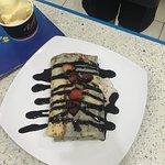 strawberry pancakes @ Romy's Nha Trang