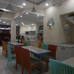 Inside seating Romy's Nha Trang