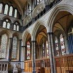 Interior de la catedral de Salisbury