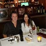ROSARIO CASSATA AND CAROLYN AT BLACKSTONE STEAKHOUSE IN MELVILLE, NEW YORK