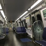 Another view inside the 7000 Series Train