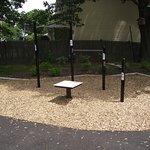 MA - BROOKLINE - COREY HILL PARK - PLAYGROUND #5 - EXERCISE STATION