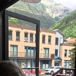 View at lunch from Smugglers Brewpub booth