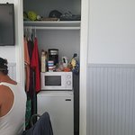 this is the ghetto style closet and kitchen