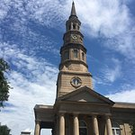 One of the historic churches in Charleston on the tour.