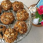 We have fresh home baked muffins everyday
