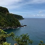 Scenic view from the Road to Hana