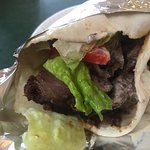 Jake's Persian Burrito (Grilled Roll Up)