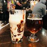 shake, beer
