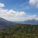 Mount Batur and lake
