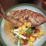 Fried Sea Bass.