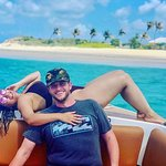 My Fiance' and I in Anguilla 2018 - Love it! Do it!