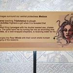 Floor mosaic information board