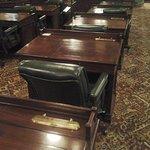 Legislative chamber seat
