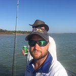 Out on the water with Matt