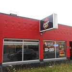 Pizza Hut, 118 E. 6th Ave, East of A St, Anchorage, Alaska. Take-out service only.