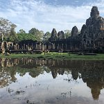 View of Bayon temple