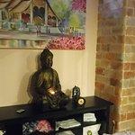 Внутри отдельной комнаты для массажа