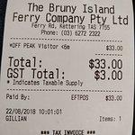 Bruny Island Ferry Foto