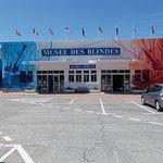 L'entrée du Musée des Blindés de Saumur