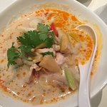 White green curry