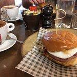 Bacon & Egg Roll for breakfast