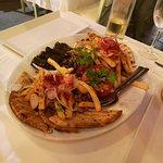 piatto misto di specialità greche
