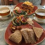 Baguette und Tuna Sandwich