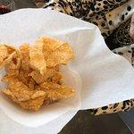 Chicharrones (fried pork rinds...yum!)