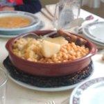 Cocido maragato- garbanzos y verdura