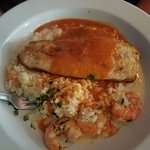 Red Snapper / Shrimp over risotto special of the day