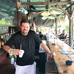Mike is the lead bartender and one heck of great guy.