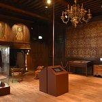 De Albert I-zaal: in het begin van de oorlog de werkkamer van de koning.