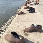 Monument to Danube deaths WWII (bronze shoes)