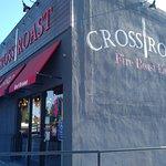 Exterior of Cross Roast on Magnolia Street in west Anaheim, CA