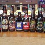 Eventail meilleures bières belges, dont la fameuse Orval