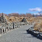 Little Stone Guards and Cairns Mark The Pathways