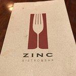 Foto de Zinc Bistro and Bar