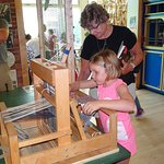 Our 5-year-old granddaughter now wants her own loom.