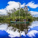 Canoeing the Margaret River with Margaret River Discovery Co