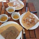 Crêpe amandes / Crêpe amandes miel / Crêpe chocolat